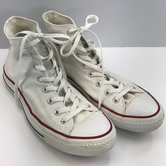 1e372d80ada Converse Converse Mens Sz11 White White White Poshmark Shoes ZfqZ7vwA